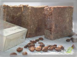 Кофе-Шок - натуральное мыло ручной работы с молотым кофе и шоколадом
