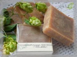 Шелковое - натуральное шампуневое мыло ручной работы