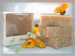 Разнотравье - натуральное шампуневое мыло ручной работы с лечебными травами