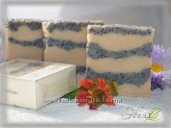 Зебра - натуральное мыло ручной работы с глинами