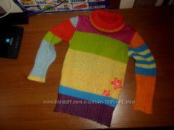 Теплый свитер фирмы  BENETTON