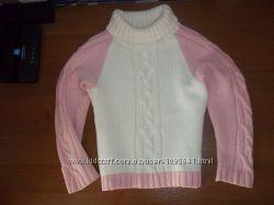 Теплый свитер, на рост 116 см. , фирмы ЛЮТИК