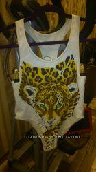 Купальник с принтом тигром
