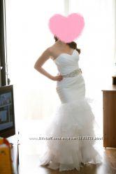 Свадебное платье в стиле рыбка русалка годе