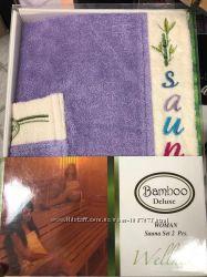Набор для сауны женский бамбук