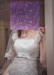 Продам красивое свадебное платье на стройную девушку