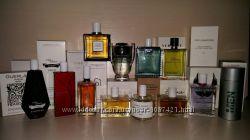 Качественные парфюмированые, туалетные воды  в тестерах 75-100 ml