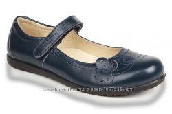 Новые школьные туфли  для девочки ТМ Eleven Shoes  кожа, легкие, мягкие.