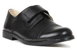 Новые школьные кожаные легкие мягкие туфли для мальчика Eleven Shoes елевен