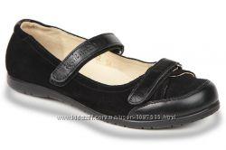 Новые кожаные школьные туфли для девочки шкіряне шкільне елевен шуз мешти