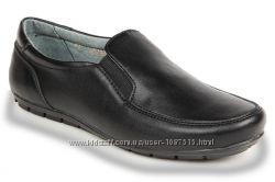 кожаные, легкие, мягкие школьные туфли для мальчика, Eleven shoes,