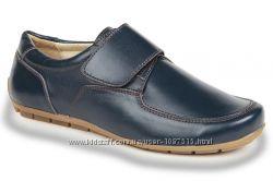 Новые кожаные лоферы туфли мокасины школьные Eleven элевен нові