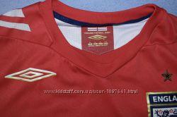 футболка Umbro England футбольная фанатская игровая узор