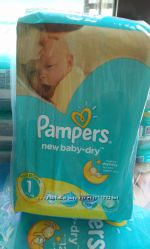 Подгузники  Pampers Active Baby памперс 1размер 2-5кг 43шт