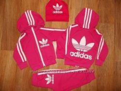 Спортивный костюм Adidas, размерный ряд 74-122 см
