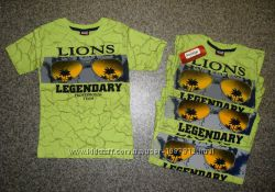 Футболка для Мальчика Lions Салатовая Рост 104-116 см