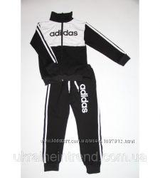 Детский Спортивный Костюм Adidas Школьник без капюшона Рост 110-140 см