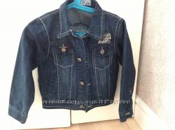 Новый джинсовый пиджак куртка TYK на мальчика 98-104 или 3-4 года