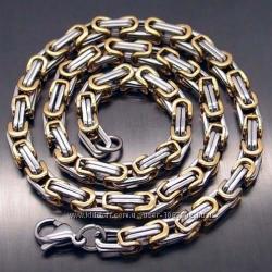 Мужская цепочка цепь Steel Rage сталь 316L 60 см 6 мм