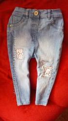 Модные джинсы на малышку