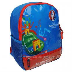Рюкзак детский дошкольный UEFA EURO 2016 Backpack Синий глянцевый принт