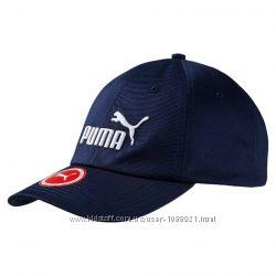 Бейсболка Кепка Puma Essensial Cap Чёрный Тёмно синий цвет Оригинал хлопок