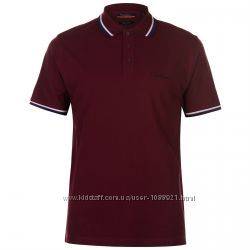 Рубашка поло футболка Pierre Cardin Bordeaux Оригинал 100 Хлопок Бордо цвет