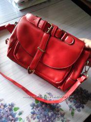 Красная сумка портфель
