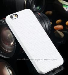 Белый силиконовый чехол айфон 6 4. 7дюймов и другие цвета
