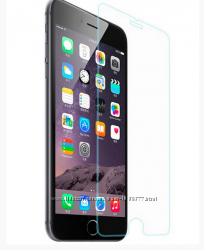 Противоударное стекло iphone 4 4S 5 5S  6 6s 7 8 в упаковке и др iphone