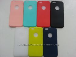 Силиконовый чехол для Iphone 6 6Sв 7 цветах