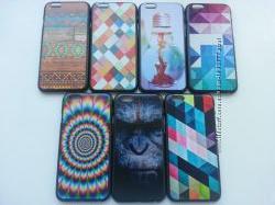 Пластиковые тонкие чехлы для iphone 6 6s