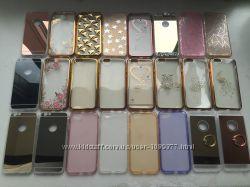 Силиконовые яркие чехлы для iphone 6 6S