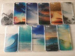 Яркие пластиковые чехлы для iphone 6 6S в 3D В наличии