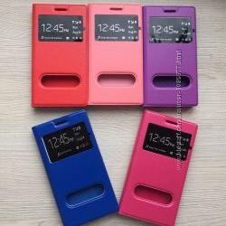 Чехол-книжечка под кожу Samsung Galaxy S4 i9500 на магните 5 цветов