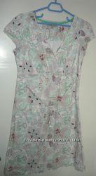 Подростковое платье . Размер 44 . Натуральный лен.