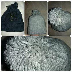 Теплые зимние  шапочки