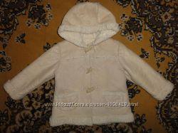 Тепленькое пальтишко на девочку 2-4 года