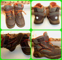 Демисезонные теплые ботиночки по стельке 16 см.