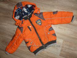 Крутая теплая курточка на мальчика 1-3 года