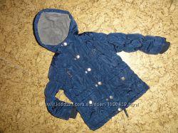 Деми курточка на мальчика р. 110. внутри на флисе