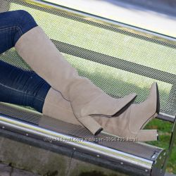 Сапоги кожаные или замшевые 36-40размер.