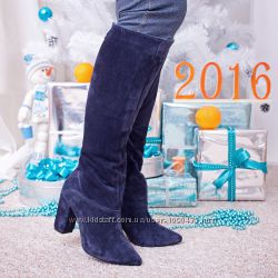 Сапоги кожаные или замшевые 36-40 размер.