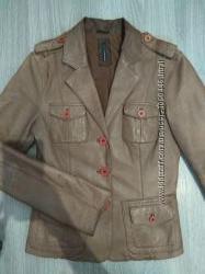 Кожаная куртка, пиджак Naf-Naf