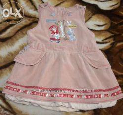 Платье-сарафан Coccobello, 74р. в отл. состоянии