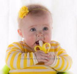 Прорезыватель, грызунок, щётка для зубов - банан