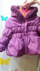 Красивая куртка George для девочки 9- 12-18 мес