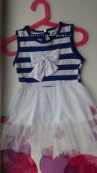 Нежное  платье на девочку 12мес-2 года