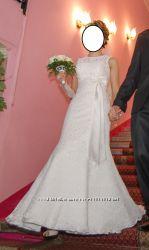 Продам шикарное счастливое свадебное платье в идеальном состоянии