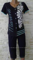 комплект футболка и капри